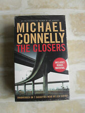 MICHAEL CONNELLY - THE CLOSERS - CASSETTES / AUDIOBOOKS - NEW SEALED - RARE