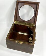 Customized Inner Box for Hamilton Model 21 Marine Chronometer