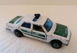 Matchbox Superfast Lesney 1979 #56 Mercedes 450 SEL Polizei Car Toy Diecast