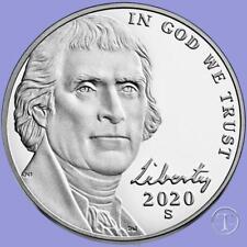 2020 S Proof Jefferson Nickel-Gem Proof-IN STOCK