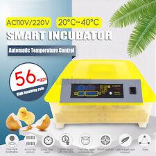 56 Eggs Incubator Temperature Control Digital Automatic Chicken Duck Hatcher Y