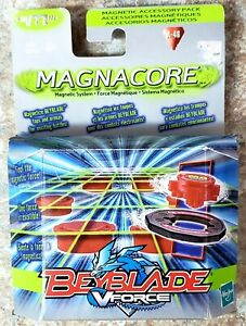 HASBRO 2003 BEYBLADE V FORCE MAGNACORE A-48 MAGNETIC ACCESSORY PACK