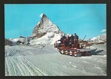 AD8324 Aosta - Provincia - M. Cervino - Salita al Teodulo col gatto delle nevi