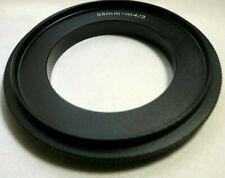 55mm Macro Reverse Lens Adapter Ring For M4/3 Micro Four Thirds Camera E-PL1 GH5