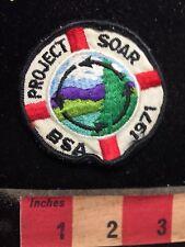 Vintage 1970s Boy Scouts - PROJECT SOAR BSA 1971 Patch 77Q7
