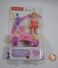 NEW! Fisher Price Loving Family Dollhouse TODDLER GIRL w/ TOY ROCKING HORSE DOLL