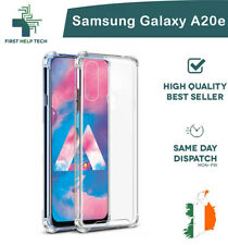 Samsung Galaxy A20e Case Cover ShockProof Soft Bumper Case Clear TPU Silicone