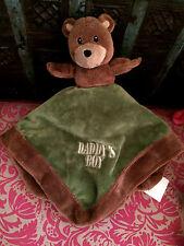 E# DOUDOU OURS BEAR PLUSH PLAT MARRON  DADDY'S BOY BABY ESSENTIALS