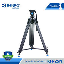 BENRO KH-25N  Video Tripod Professional Magnesium Alloy Video Camera Tripod kh25