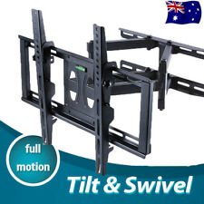 Heavy Duty Full Motion Swivel Arm Wall Mount TV Bracket 32 42 48 50 55 Load 45KG