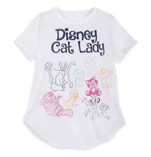Disney Parks Cat Lady Tee T Shirt Disney World Theme Parks Adult Size XL NEW