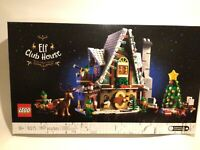 LEGO Elf Club House Building Kit 10275 Winter Village Collection BRAND NEW