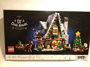 LEGO Elf Club House Building Kit 10275 Creator Winter Village Collection NEW