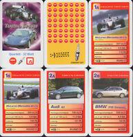 "NSV Nürnberger Spielkarten ""Turbo Speed"" (S, Quartett-Nr. --) Z 0-1"