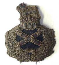 Field Marshal Cap Badge British Hat WW2 Army WWII Bernard Montgomery WWII Aged