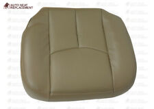 2003 to 2006 Chevy Silverado & GMC Sierra Upholstery Leather Seat Cover Tan #522