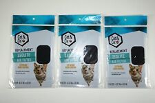 """New listing Lot of 3 Cat & Co. Litter Pan Zeolite Air Filters Odor Control 6-3/8"""" x 4-1/4"""""""