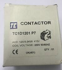 TC contacteur TC1D1201 P7 12A/5.5KW 230 V 50/60HZ