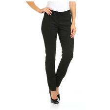 Cotton Mid-Rise Leggings Machine Washable Jeans for Women