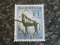 SOUTH AFRICA POSTAGE STAMP SG197 1R VERY FINE USED