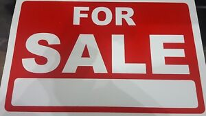 A4 SIZE CARS VanPrice Pricing FOR SALE Sign Board Plastic Card Display Bargain