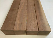 "4 Pack Set,  Black Walnut Lumber Board, Turning Wood    2"" x 2"" x 12""  FREE SHIP"