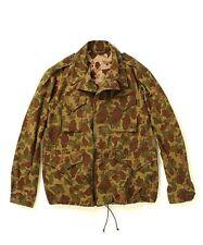 New BUZZ RICKSON'S x fennica Camouflage Field Jacket sz 36
