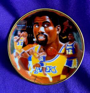Magic Johnson Los Angeles Lakers HOF🐐 1987 Gartlan USA Collector's Plate 🏀👀🔥