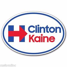 Hillary Clinton Tim Kaine for President VP Bumper Sticker Decal 2016 Election