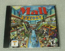 "Mall Tycoon PC Game ""Excellent Condition"" Fast Free Ship"