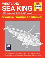 Haynes Westland SAR Sea King Helicopter Manual H5505