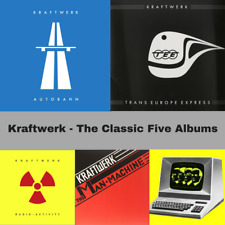 Kraftwerk - The 5 Classic Albums Bundle - 5 x Vinyl LP *NEW*