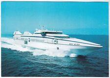 80282 NAVE ALISO - NGV NAVIRE GRANDE VITESSE - SNCM FERRYTERRANEE - MARINA SHIP