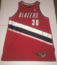 Preowned-Rasheed Wallace Portland Trailblazers Authentic Nike NBA Jersey Size 56