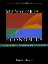 Managerial Economics: Analysis, Problems, Cases Truett, Dale B., Truett, Lila J