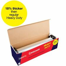 """Ultra-Thick Heavy Duty Household Aluminum Foil Roll (12"""" x 300 Square Foot"""