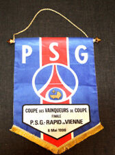 FANION PENNANT RAPID WIEN PARIS SAINT GERMAIN PSG  EUROPEAN CUP FINAL 1996