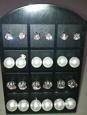 Lot (12) display x 12 Pair Nice Women   Ear Stud Earring Display Stand
