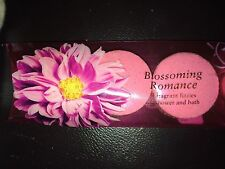New Victoria's Secret Blossoming  Romance 3 fragrant fizzies Bath or shower