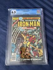 Iron Man Annual #4 - Marvel 1977 CGC 6.5 Champions -Black Widow, Hercules, Angel
