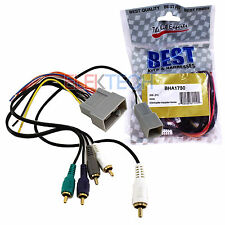 BHA1730 Aftermarket Radio Replacement Amplifier Retention Wire Harness for Honda