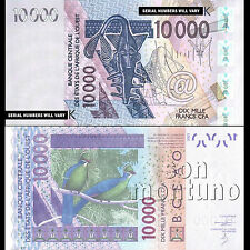 2003 / 2013 WEST AFRICAN STATES Senegal 10000 francs Banknote SEQUENTIAL NUMBERS