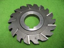 STAGGERED SIDE MILLING CUTTER 18T 3-7/8 x .34 x 1-1/4
