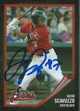 Jacob Scavuzzo 2014 Great Lakes Loons Signed Card