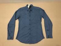 Diesel Polo Shirt Mens ~ Size Small ~ New w/ Tags L/S Geometric Design Slim Fit