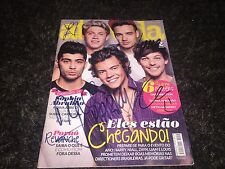 One Direction signed magazine Harry Styles Zayn Malik Niall Horan Liam Payne L