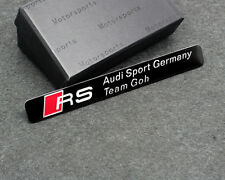 RS Sport Car Trunk Emblem Badge sticker Accessories for Audi TT TTS A4 A6 A8 Q3