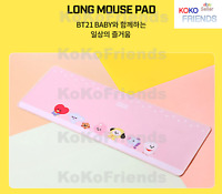 BTS BT21 Official Baby Character Extended Long Mouse Pad KPOP Goods Authentic MD