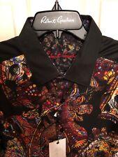 NWT Mens Robert Graham Caloosa Short Sleeve Shirt Size Small