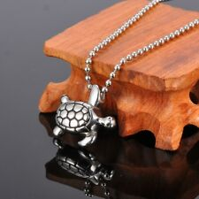 Sea Turtle Cremation Jewelry Pendant Keepsake Memorial Urn Necklace Ash Holder